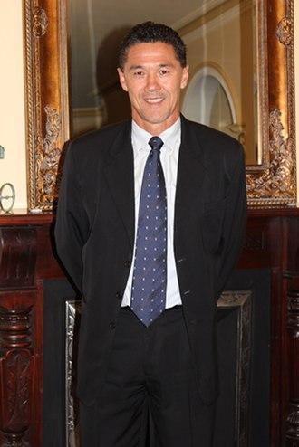 Alan Davidson (Australian soccer) - Davidson in 2015