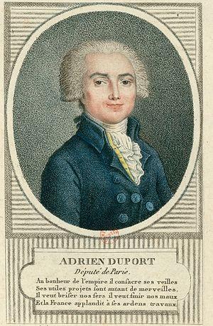 Adrien Duport - Adrien Duport