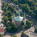 Aerial Nuremberg Reformations-Gedächtnis-Kirche.jpg