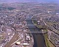 Aerial view of the River Tyne, 1983 (27143385461).jpg