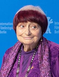 Agnès Varda French photographer, artist, film director and screenwriter