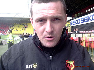 Aidy Boothroyd English association football player, coach and manager