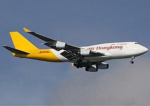 Air Hong Kong - Air Hong Kong Boeing 747-400F.