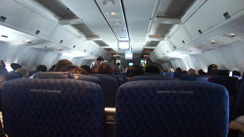 File Airplane Seat View 1 2013 07 02 Ogv Wikimedia Commons