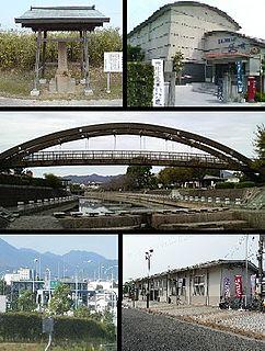 Aizumi, Tokushima Town in Shikoku, Japan