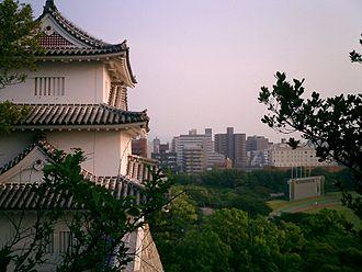 Akashi, Hyōgo - Akashi from Akashi Castle.