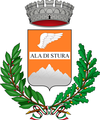 Coat of airms o Ala di Stura