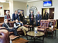 Alan Gross released from Cuban prison, arrives at Joint Base Andrews 141217-F-WU507-618.jpg