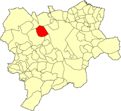 Location of Barrax
