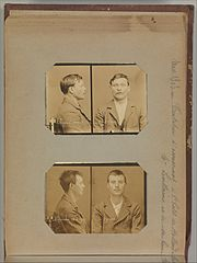 Album of Paris Crime Scenes - Attributed to Alphonse Bertillon. DP263652.jpg