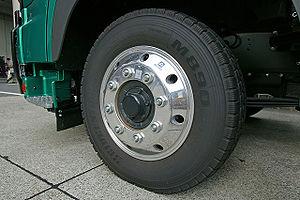 Alloy wheel - Alcoa's heavy-duty alloy wheel, for buses and trucks.