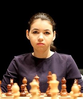 Aleksandra Goryachkina Russian chess player