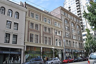 Globe Building, Beebe Building and Hotel Cecil - Image: Alexis Hotel 12