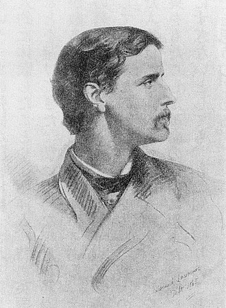 Algernon Freeman-Mitford, 1st Baron Redesdale - Portrait in 1865 by Samuel Lawrence