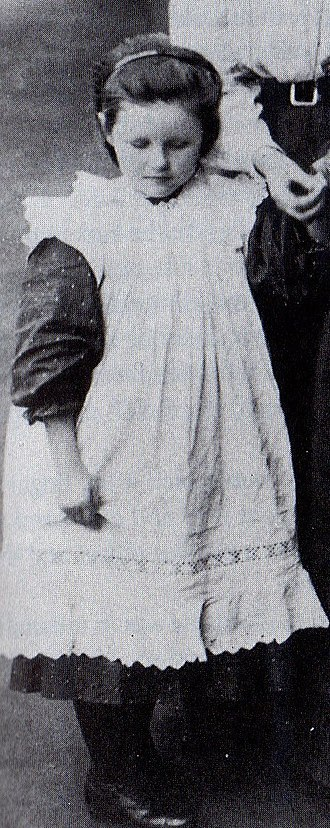 Alice Betteridge - Alice Betteridge at the Institution for Deaf and Dumb and Blind, 1910