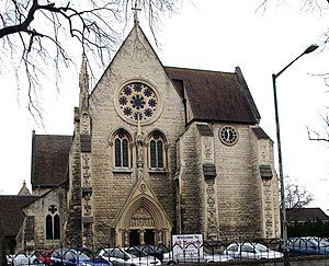 All Saints' Church, Cheltenham - Image: All Saints Church, Cheltenham