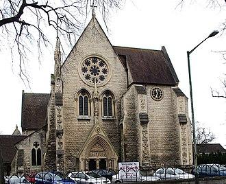 All Saints' Church, Cheltenham - Image: All Saints Church, Cheltenham