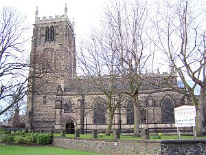 Loughborough - Loughborough parish church