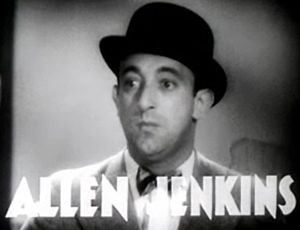 Allen Jenkins - Jenkins in Havana Widows (1933)