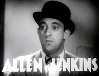 Allen Jenkins Film, stage and television actor