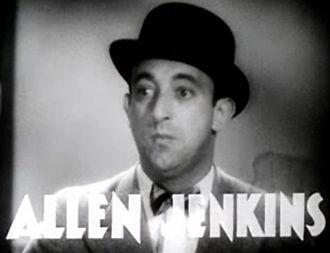 Allen Jenkins - Jenkins in Havana Widows (1933)