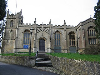 All Saints Church, Weston church in Bath and North East Somerset, UK