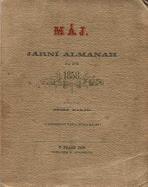 Máj (literary almanac) - Image: Almanach Máj