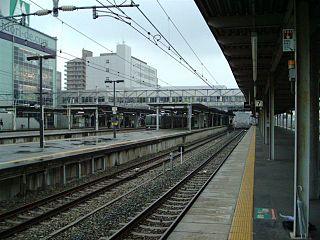 Amagasaki Station (JR West) Railway station in Amagasaki, Hyōgo Prefecture, Japan
