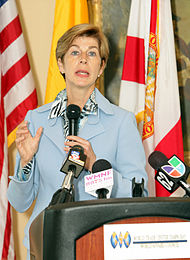 Ambassador Carolina Barco in Florida Forum.jpg