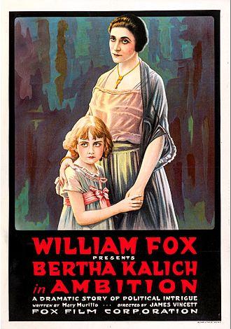 Ambition (1916 film) - Film poster