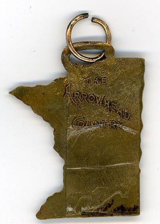 Arrowhead Region - American Legion Conference, Hibbing, Minnesota 1927, reverse
