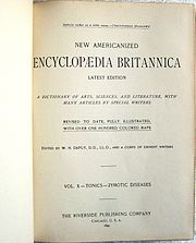 encyclopedie britannique