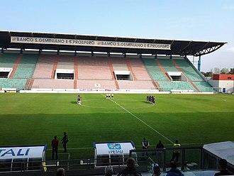 Mapei Stadium – Città del Tricolore - Image: Amichevole Reggiana Bologna
