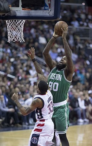 Amir Johnson - Johnson with the Celtics
