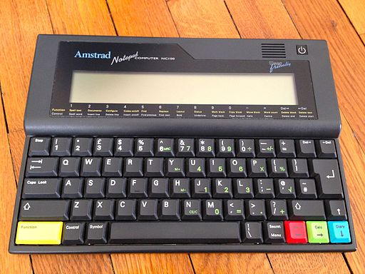 Amstrad NC100 (main view) (Thomas Conté)