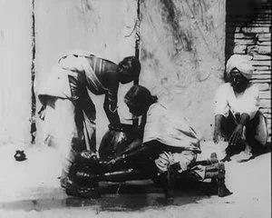 File:An Indian Washing the Baby, 1906.webm
