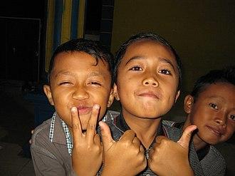 Tenggerese people - Image: Anak Tengger