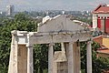 Ancient Roman Theatre, Plovdiv, detail 02.jpg