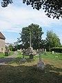 Ancient cross in St Johns churchyard, Kenn (geograph 3622197).jpg