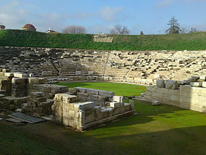 Thessaly - First Ancient Theatre, Larissa.