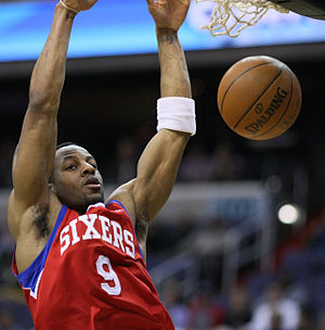 Andre Iguodala - Iguodala competed in the 2006 Slam Dunk Contest.