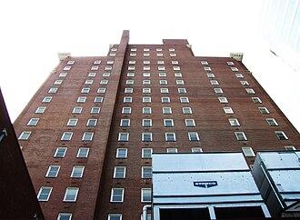 Andrew Johnson Building - East facade