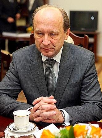 Andrius Kubilius - Image: Andrius Kubilius Senate of Poland 01