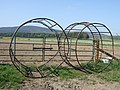 Animal feed cages - geograph.org.uk - 422511.jpg