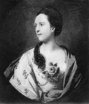 Sir Robert Palk, 1st Baronet - Anne Vansittart, Lady Palk (died 1788). Portrait by Sir Joshua Reynolds.