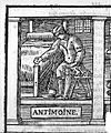Annibal Barlet; antimony emetic Wellcome L0015743.jpg