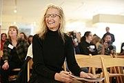 """Leibovitz at """"Annie Leibovitz: A Photographer's Life, 1990-2005"""", San Francisco, California, 2008"""