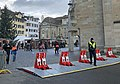 Anti-terrorist bollards at Zurich Christmas-market.jpg