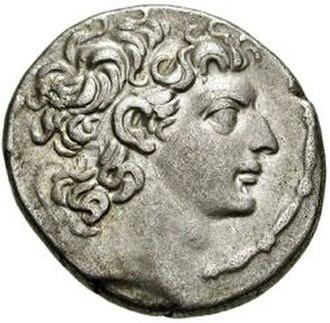 Cleopatra Selene of Syria - Antiochus VIII, Cleopatra Selene's first Syrian husband