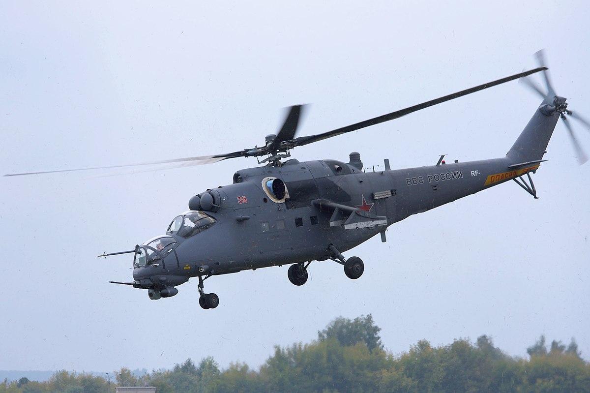 Mil Mi-24 - Wikipedia